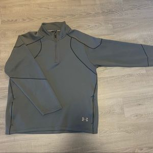 Men's Under Armour pullover jacket XL gray